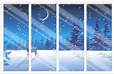 Fen tre d 39 hiver for Fenetre hiver
