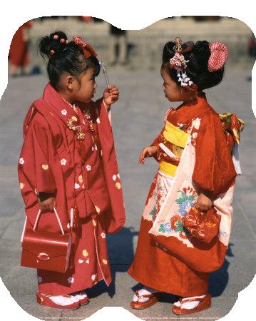 Transparan asyalı çocuklar uzantılı asyalı japon çocuklar