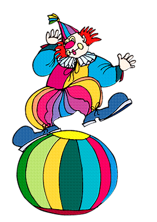 clown sur ballon