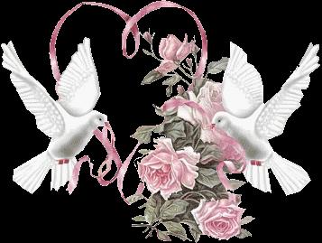 Tubes Mariage Fleurs