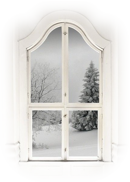 A hiver maisons for Fenetre hiver