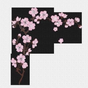 Dessin de branche de cerisier japonais - Branche de cerisier japonais ...